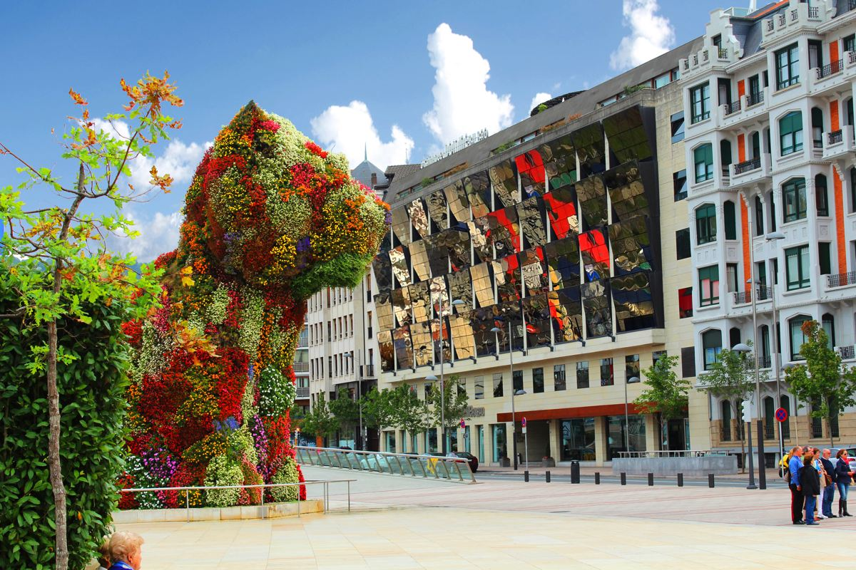 Gran hotel domine in front of the guggenheim gran hotel - Restaurante hotel domine bilbao ...